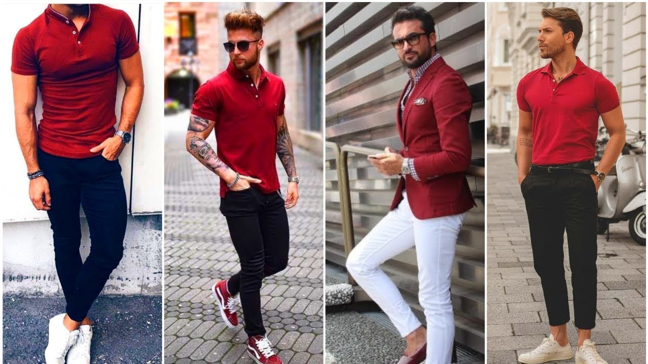 [VIDEO] - What to Wear With Red Shirt For Men 2020 - Red Shirt Outfits Ideas For Guys | Men's Fashion 2020! 1