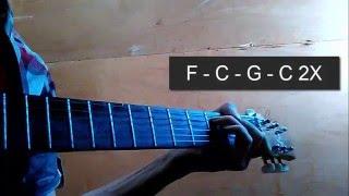 Kunci Gitar Naik ke Puncak Gunung + Variasi