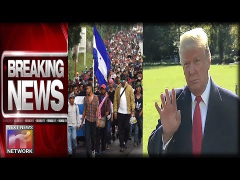 BREAKING: TRUMP DECLARES NATIONAL EMERGENCY - ISSUES FINAL WARNING AS IMMIGRANT HORDE APPROACHES US