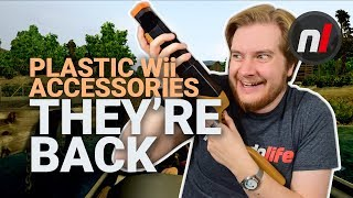 Remember Plastic Wii Accessories? THEY