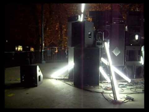 Nuit Blanche 2009   kiosque à musique jardin du luxembourg son pêles mêles