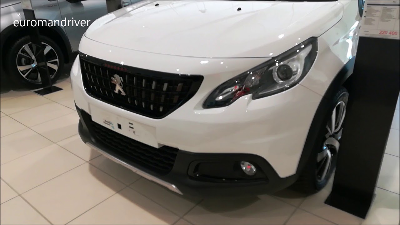 Peugeot 2008 Automatic Review New Peugeot 2008 Gt Line 2019 Walk Around Review Euromandriver Compact Suv Crossover