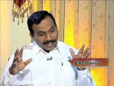 A Raja on 2G - Special Interview to NDTV Hindu