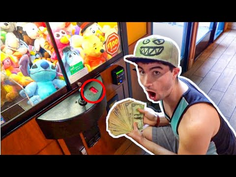 The CLAW MACHINE HACK NO ONE Knows ABOUT!!!