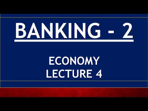 Economy for UPSC - Lecture 4 - Banking Part 2 - PSL, Indradhanush, BASEL, Small/Payment Banks, MUDRA