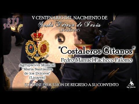 """(A.M. Dolores) """"Costaleros Gitanos"""" Traslado """"Santa Teresa"""" Linares 2015-by Savio"""