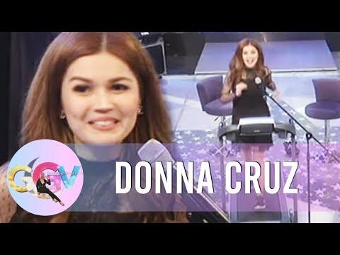 GGV: Donna Cruz sings Habang May Buhay on the treadmill