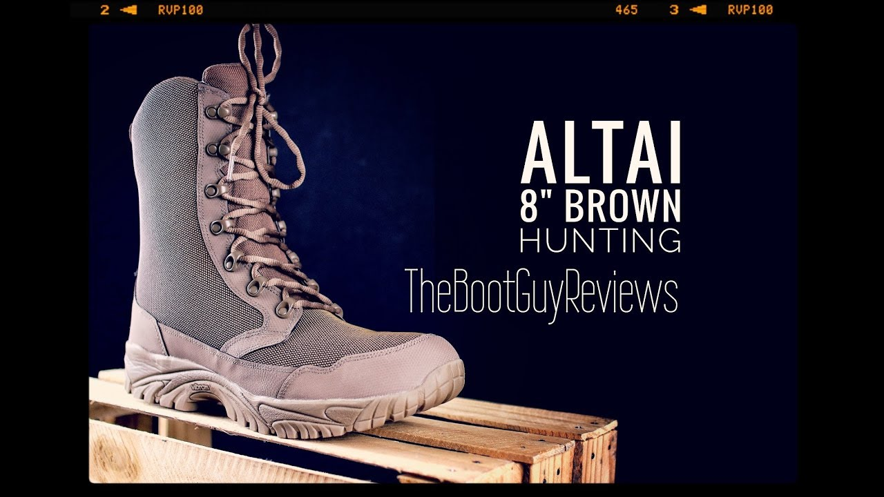 f671194dcb94 ALTAI 8″ Brown Hunting Boot   MFH200     The Boot Guy Reviews ...