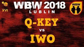 bitwa Q-KEY vs IWO  WBW 2018 Lublin (1/8)  freestyle battle