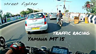 YAMAHA MT 15 #Gearchallange #Traffic Racing KILLER SPEED