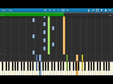 Avatar:The legend of Korra OST The Greatest Change(Avatar State) Synthesia