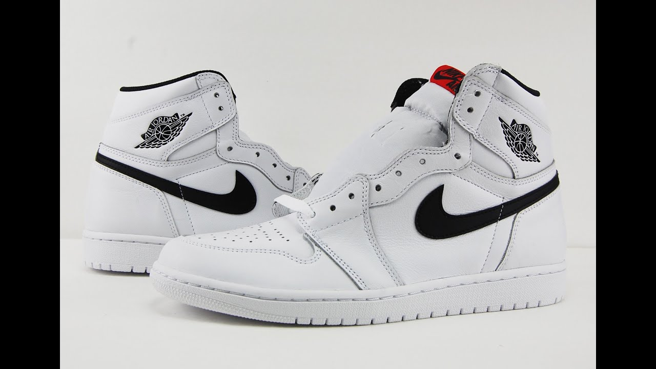 28b45a2a0e53 Air Jordan 1 Retro High OG White Black Yin Yang Premium Essentials Pack  Review + On Feet