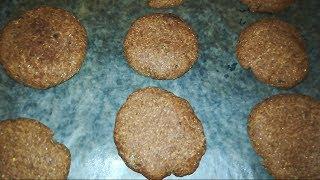 Шоколадное печенье из окары / Vegan chocolate chip cookies.