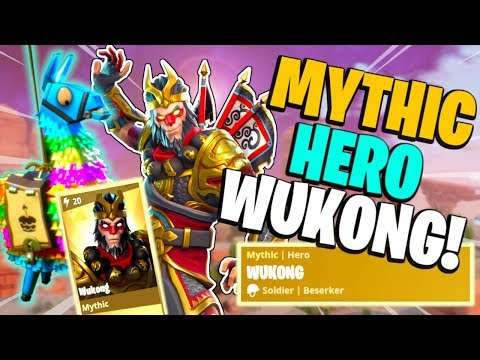 THE MONKEY KING!! Mythic Hero Wukong | Beserker | Fortnite Save The World PvE Ultimate Edition