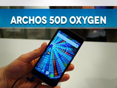 Archos 50D Oxygen, prise en main (MWC16) - Test Mobile