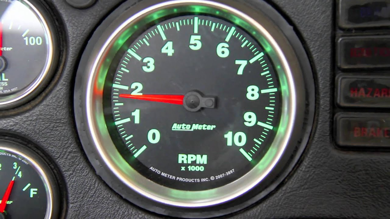 digital rpm meter wiring diagram viper 350hv how to fix a bouncy tach needle youtube