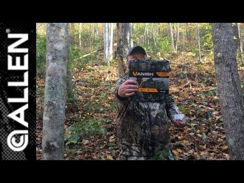 Deer Hunting Blind Made Easy Allen Vanish 3D Fabric