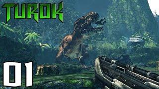 TUROK #01 - Le Tyrannosaure Attaque - royleviking [FR HD PC]