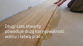Jak zamontować podłogę drewnianą z desek część 2 układanie i klejenie deski podłogowej  HartzLack
