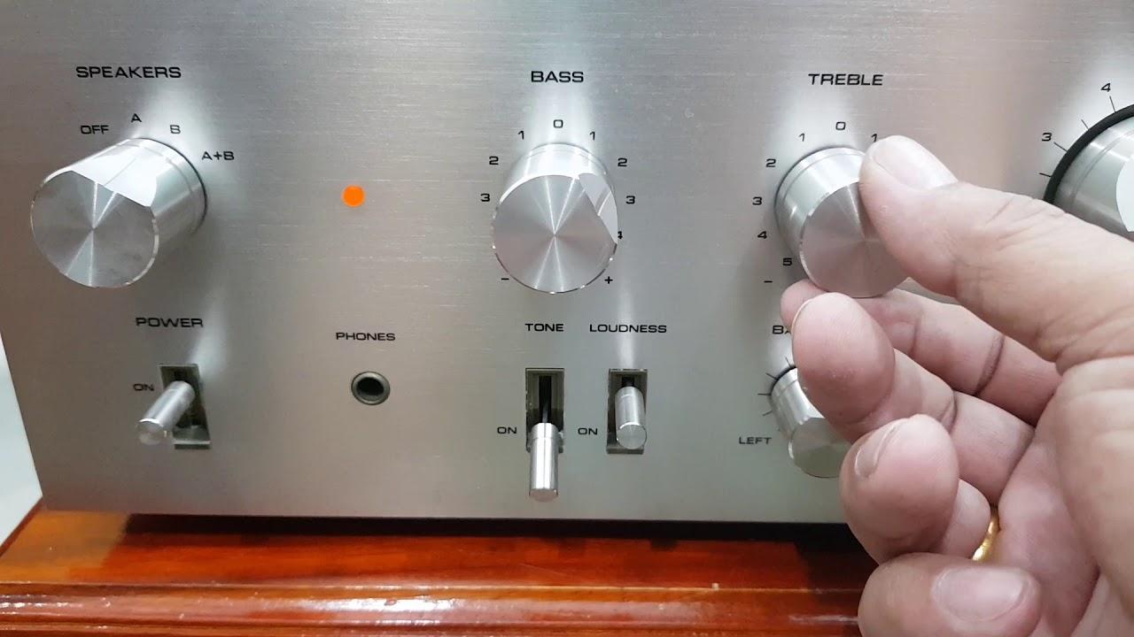 (Đã bán) Anh em chơi loa toàn dải nên chọn con amply này – Pioneer SA 6750 giá 2 triệu
