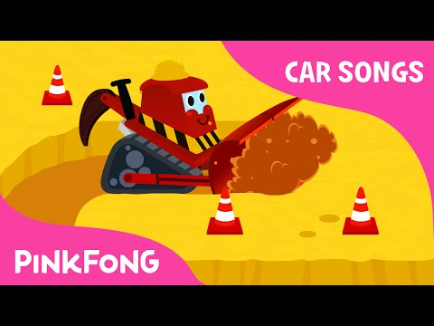 Bulldozer | Car Songs | PINKFONG Songs for Children