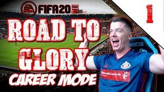 FIFA 20 SUNDERLAND ROAD TO GLORY CAREER MODE EP1 |