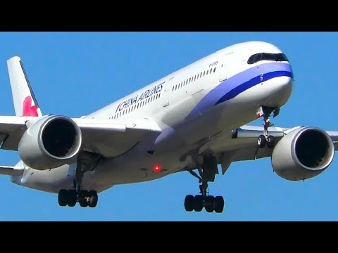 ALL 4 Airbus A350 Operators Landing at Melbourne Airport | Melbourne Airport Plane Spotting