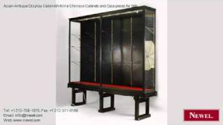 Asian Antique Display Cabinet/vitrine Chinese Cabinets
