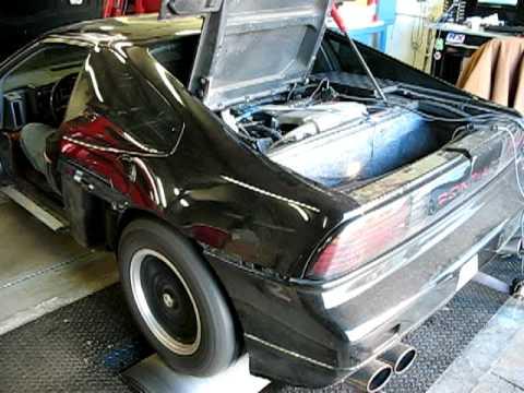 88 Fiero GT, 3.4 DOHC Turbo dyno (417whp/427wtq)