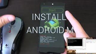 Install Android M Developer Preview on Nexus Devices