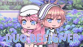 The duo designer GLMM • romance and sad Gacha life mini movie ORIGINAL