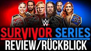 WWE SURVIVOR SERIES 2018 – PPV Review/Rückblick - ROT RASIERT! (Deutsch/German)