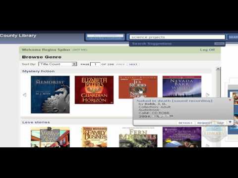 Allegany County Library System - Browsing Genre Tutorial