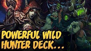 Powerful Wild Hunter Deck | Wild Hunter 2019 | Rise Of Shadows | Hearthstone