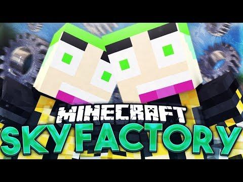 Sky Factory #233 LIVINGROCK MAKEN VOOR DE MANA POOL!