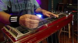 Adair Torres Playing his Zum Steel Guitar - It