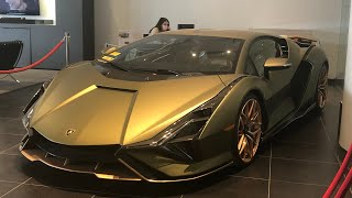 THE FIRST LAMBORGHINI SIAN IN NYC!
