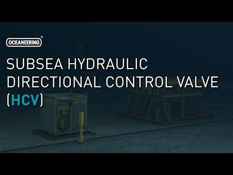 Subsea Hydraulic Directional Control Valve (HCV) | Oceaneering
