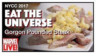 Gorgon Pounded Steak - Marvel's Eat the Universe