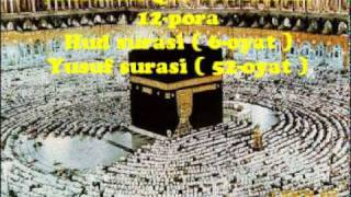 12 Pora Qur Oni Karim