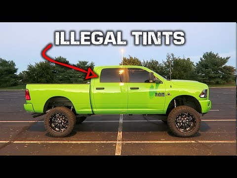 How To HAVE 5% Tint and NOT get a TICKET! *Illegal Tint*