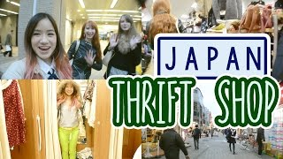 Japan Vlog: Thrift Shop in JAPAN | Thrift Shop HAUL | Fashion Swap with Rachel & Jun