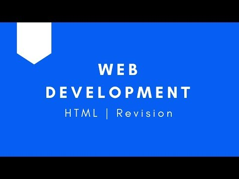 Web Development   HTML Revision   All Concepts Covered   Tharun Shiv   Being A Pro