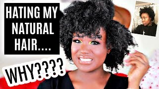 I  HATE MY 4C HAIR 😤??!! My NATURAL HAIR Journey, Relaxer, Big Chop 2018 Storytime I Rose Kimberly