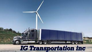 ДальнобойUSA/ Ветряные электростанции/ Китайский буфет / Колёса для поезда.. IG Transportation.. thumbnail