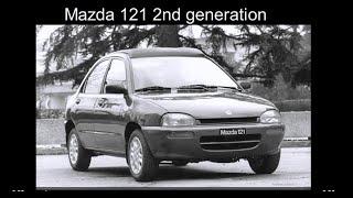 Mazda 121 2nd generation history (1991-1996)