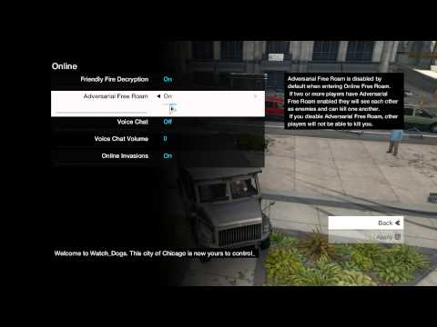Watch Dogs: How to Play Online Free Roam With Friends!