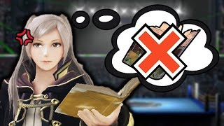 ROBIN WITHOUT TOMES - Super Smash Bros For Wii U