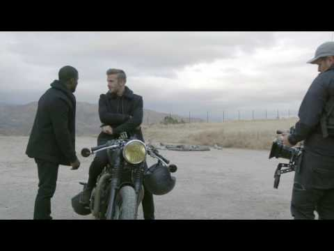 Behind the s of The Roadtrip with David Beckham & Kevin Hart