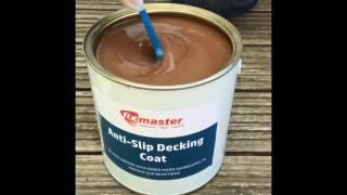 fixmaster anti slip decking coat making decking safe uv stable